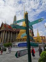 1 Day Bangkok Cultural Itinerary – Palace, Temples, Canal Boat Ride & FloatingMarket