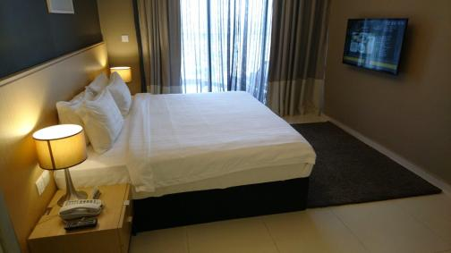 Interior of master bedroom - Executive Suite - The Pines Melaka