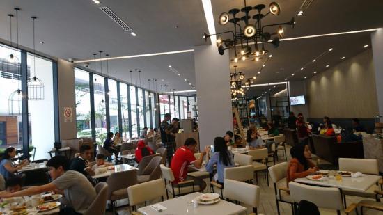 Interior of cafeteria - The Pines Melaka